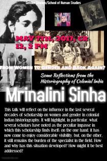 poster mrinalini sinha
