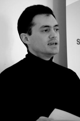 Dr.Pablo presenting paper Edinburgh University