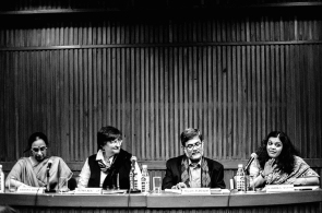 Prof. Krishna Menon, Prof. Fiona Mackay, Prof. Shyam Menon, and Dr Radhika Govinda