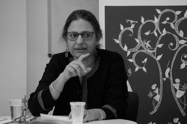 Prof. Rachana Johri presenting her paper at University of Edinburgh
