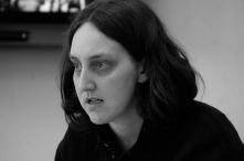 Sarah Ph.D student presenting paper Edinburgh University